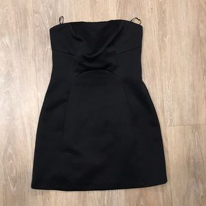 Topshop Strapless Mini Dress